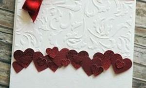 50 идей свадебных открыток своими руками