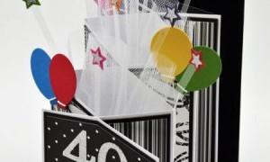 101 идея простых поздравительных открыток с днем рождения с воздушными шарами своими руками