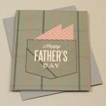 Открытка «С днем отца» с шаблонами для печати своими руками