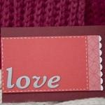 Валентинка с объемным сердечком своими руками