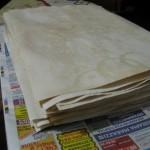 Состаривание бумаги своими руками