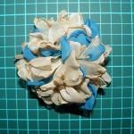 Как сделать цветок из брадса для открытки своими руками