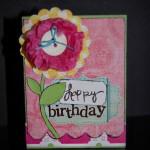 Цветок из папиросной бумаги для открытки своими руками