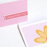 Поздравительная открытка ко дню мамы своими руками