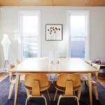 Интерьер совмещенной кухни и гостиной