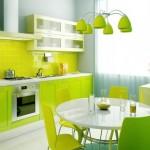 Кухни зеленого цвета — как решиться?