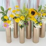 Как сделать вазы из обычных пластиковых труб