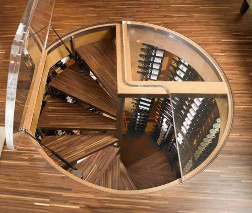 Винтовая лестница в погреб своими руками