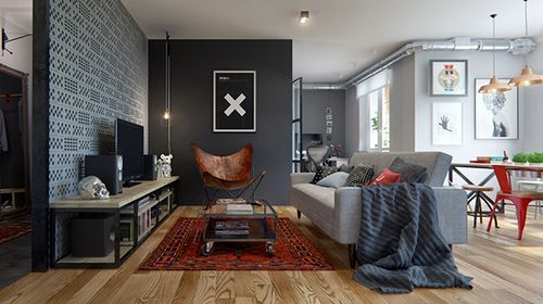 Дизайн квартиры в Минске площадью 69 кв м