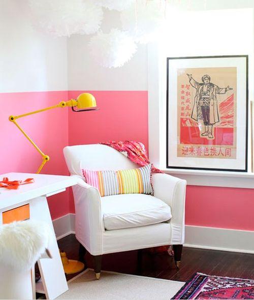 Цветные стены в интерьере. А вам слабо?