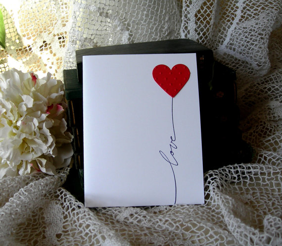 Открытки своими руками о любви