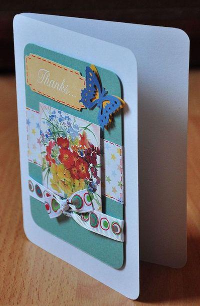 открытка с закругленными краями