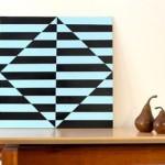 Подробный мастер класс по созданию оригинальной картины-иллюзии своими руками