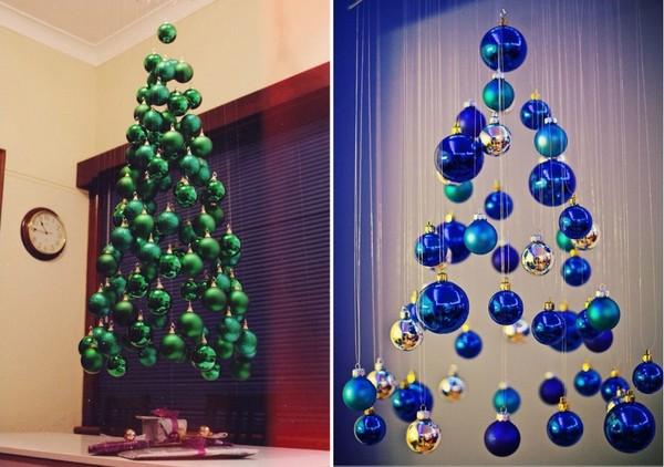 Как сделать и оригинально украсить новогоднюю елку своими руками