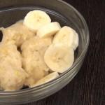 Бананово-лимонный сорбет из 3-х продуктов