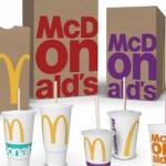 Макдональдс работает над обновлением дизайна упаковки своей продукции