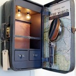 50 крутых идей как использовать винтажные чемоданы в интерьере