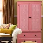 45 крутых идей как обновить шкаф с помощью обоев