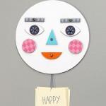 Крутая развивающая игрушка из картона для детей «Лицо с эмоциями» своими руками