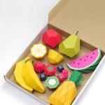 Как сделать фрукты из бумаги своими руками + шаблоны для вырезания