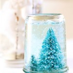 Как сделать новогодний снежный шар своими руками