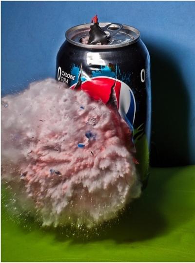 Высокоскоростная фотография еды от Алана Сэйлера