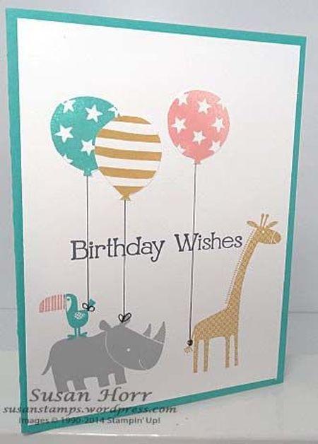 слоник, жираф и какаду