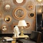 30 оригинальных идей декорирования помещения большим количеством зеркал