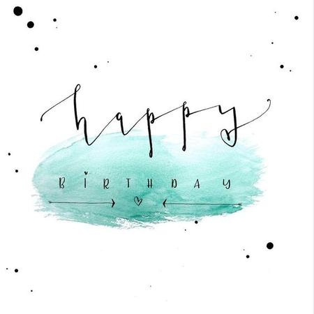 открытка с красивым шрифтом