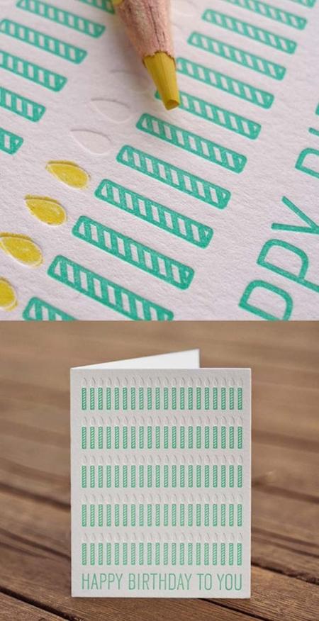 открытки со свечами