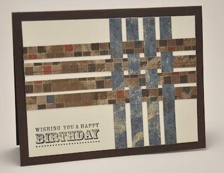 открытка в теме пересекающихся линий