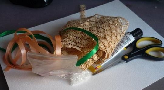 материалы и инструмент для открытки