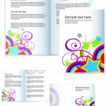Яркий образец брошюры