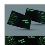 Образец визитки финансового аналитика