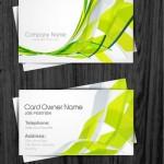Шаблоны визиток для озеленительных фирм