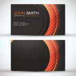 Образец визитки Джона Смита