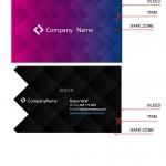 Корпоративные визитные карточки в ai и eps