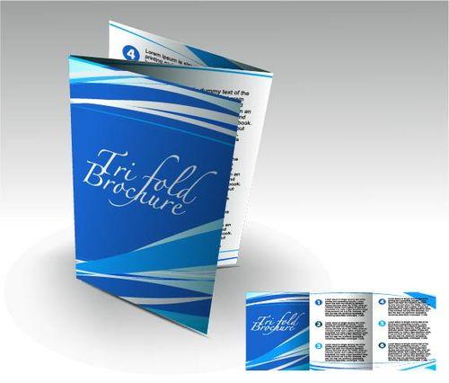 Буклет для авиакомпании в eps