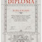 Образец диплома за достижения в науке и технике