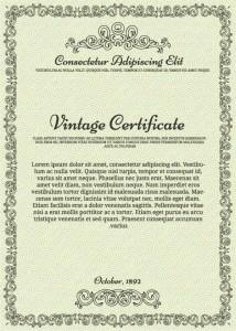 Сертификат - награждение в eps