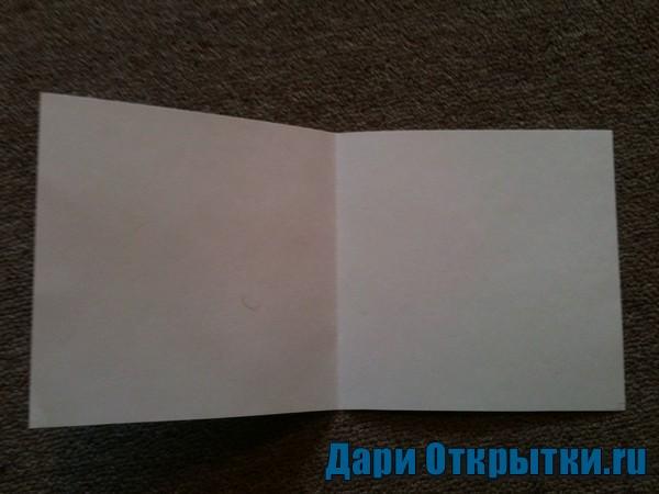 Сделаем основу для открытки