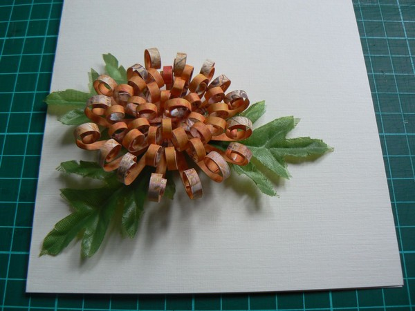 Хризантема своими руками