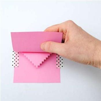 аккуратно закрыть открытку