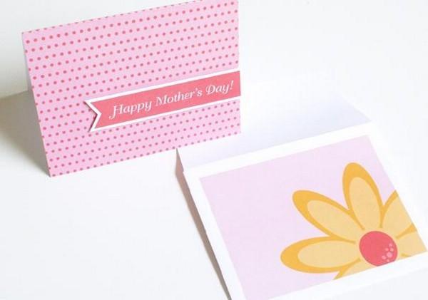 Поздравительная открытка ко дню мамы