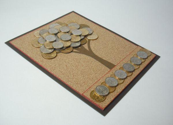 Подарки из монет своими руками