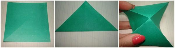 вырезаем 3 квадрата