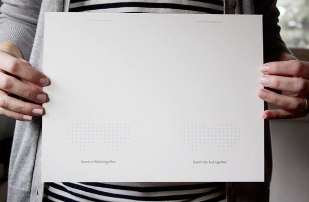 Делаем заготовку для открытки