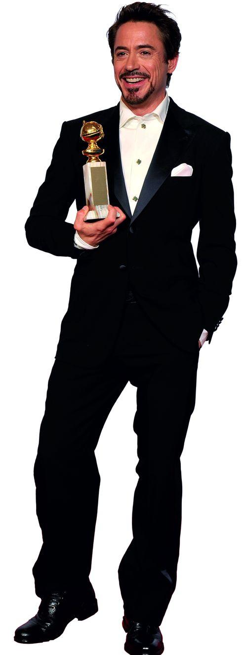 Ростовая фигура Роберт Дауни младший с Золотым глобусом