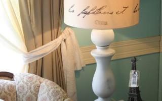 5 простых способов как декорировать плафон своими руками