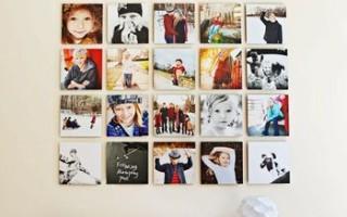 7 крутых идей по размещению семейных фотографий